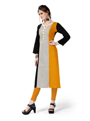 Multi Color Rayon Stitched Kurti - RF-007