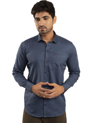 Combo Shirts Navy Blue and Parrot Green - 1ABF-NB-PG