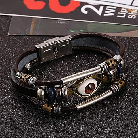 Multi Color Alloy Men's Bracelet - 03BR065-BR