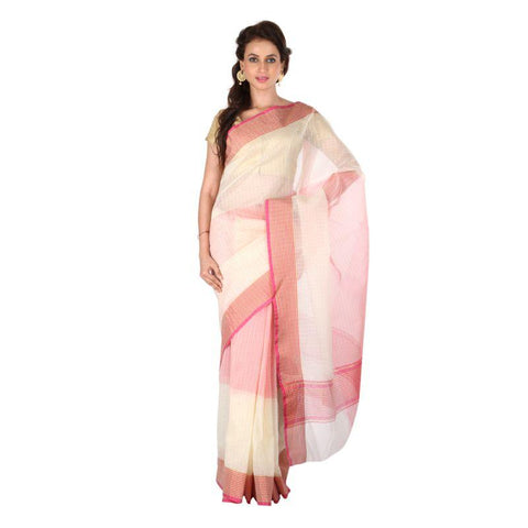 Beige Color Banarasi Silk Saree - 1022-C