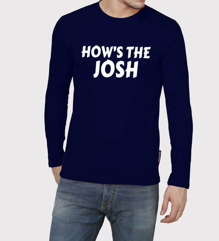 Navy Blue Color GSM With Cotton Mens Tshirt - 10281