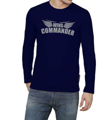 Buy Navy Blue Color GSM With Cotton Mens Tshirt
