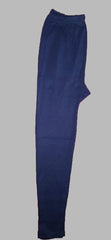 Navy Blue Color Cotton Lycra Women's Casual Legging - BKNB002