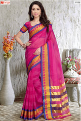 Multi Color Chiffon Saree