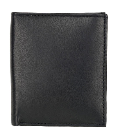 Black Color Leather Credit Card Holder - 122BLK