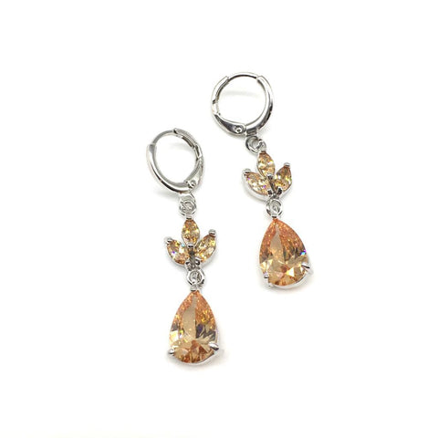 Sliver Color Alloy Light Weight Earring - 1403NE19S-pe