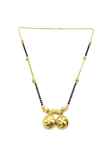 Gold  and  Black Color Special Alloy Mangalsutra  - 1407N128