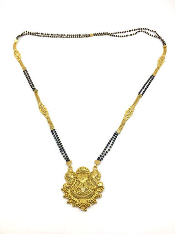 Gold  and  Black Color Special Alloy Mangalsutra  - 1407N130