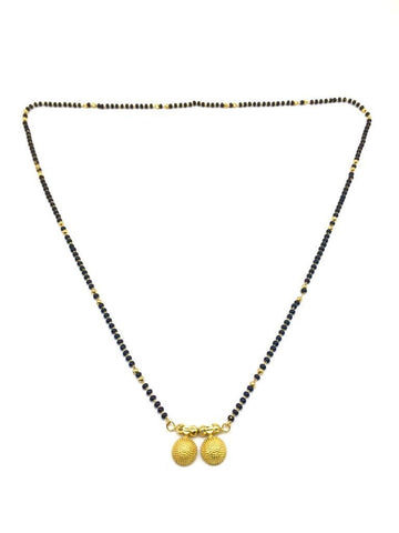 Gold  and  Black Color Special Alloy Mangalsutra  - 1407N131