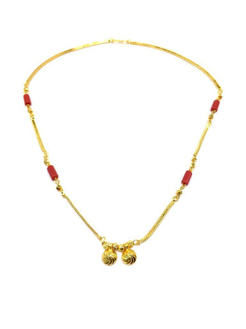 Gold Color Special Alloy Mangalsutra  - 1407N144