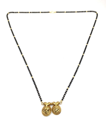 Gold  and  Black Color Special Alloy Mangalsutra  - 1407N154