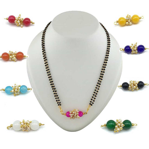 Multicolor Color Special Alloy Mangalsutra  - 1407N170