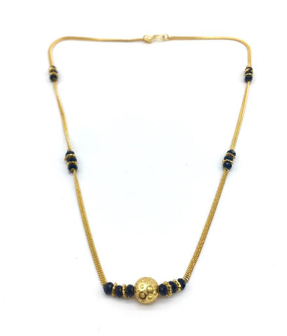 Gold  and  Black Color Special Alloy Mangalsutra  - 1407N171