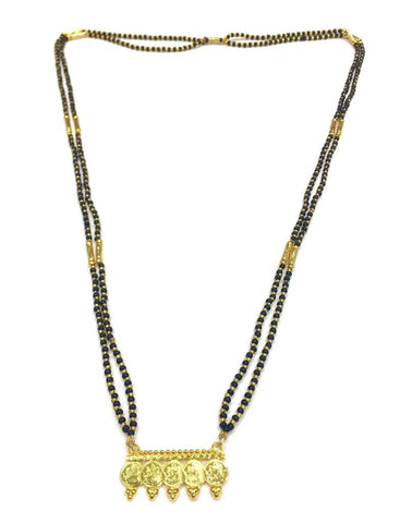 Gold  and  Black Color Special Alloy Mangalsutra  - 1407N172