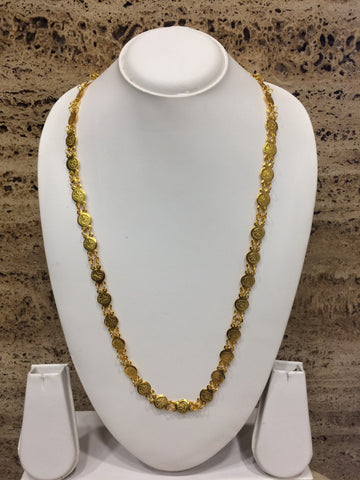 Gold Color Alloy Necklace - 1407N63