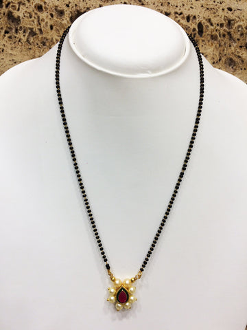 Gold Color Alloy Mangalsutra - 1407N81