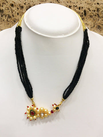 Gold Color Alloy Mangalsutra - 1407N90