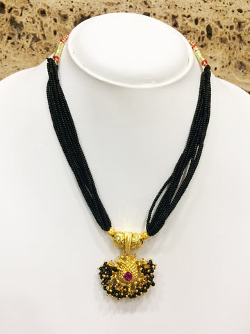Gold Color Alloy Mangalsutra - 1407N91