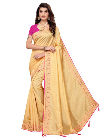 Chiku Color Zoya Women's Saree - 149EKA04