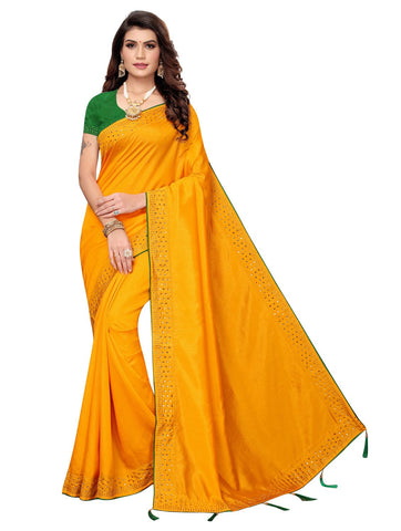 Yellow Color Zoya Women's Saree - 149EKA08