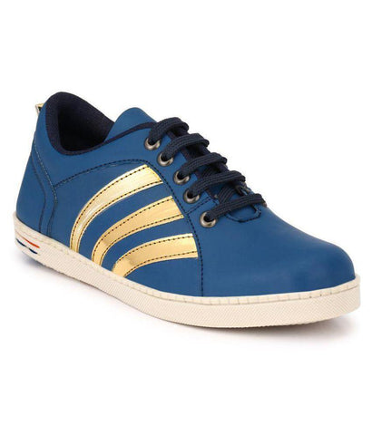 Blue Color Synthetic Men's Sneakers - 151_Blue