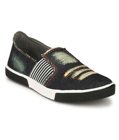 Blue Color Synthetic Men's Sneakers - 173_Blue