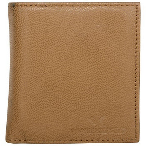 Tan Color Leather Credit Card Holder - 1855TAN
