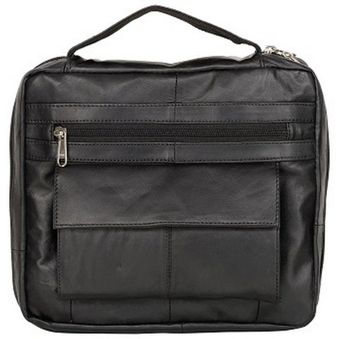 Black Color Leather Women Laptop Bag - 1900BLK