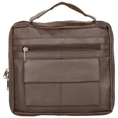 Buy Brown  Color Leather Women Laptop Bag