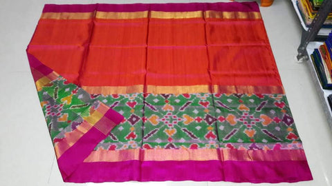 Multi Color Soft Silk Uppada Saree with Udayagiri Border - 20180717-WA0016