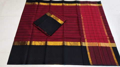 Multi Color Pure Cotton Uppada Saree - 20180717-WA0018