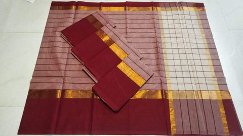 Multi Color Pure Cotton Uppada Saree - 20180717-WA0019