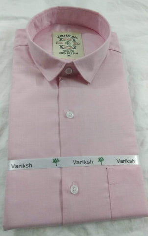 Light Pink Color Cotton Full Sleeves Shirt - 20180726-WA0014