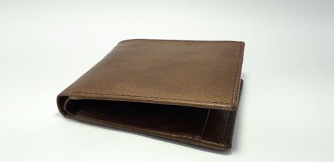 Brown Color Leather Men Wallet  - RLF1812M04
