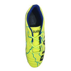 Parrot Green Color Synthetic Unisex Football Shoes - ZUXIOmodelFBPlayerYellow