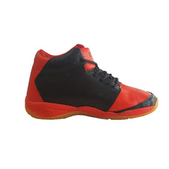Red Color Leatherette Men's Basketball Shoes - ZUXIObasketballRed
