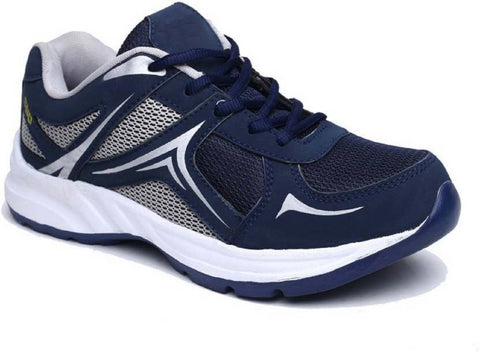 Blue Color Mesh Running Shoe - 2020Blue