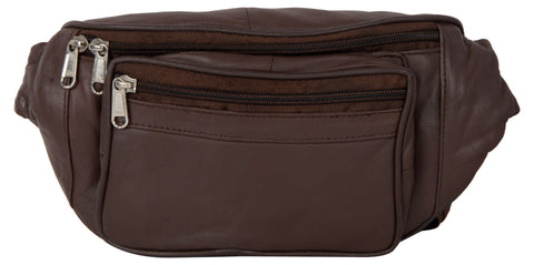 Brown Color Leather Unisex Travel Bag - 220BROWN