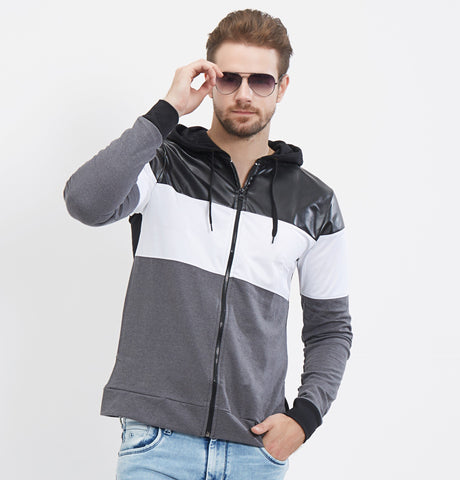 Multi Color Color Cotton Men Sweaters & Sweatshirts-23WJ