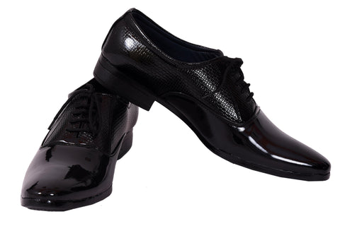 Black Color Patent Leather Formal Shoe - 2510Black