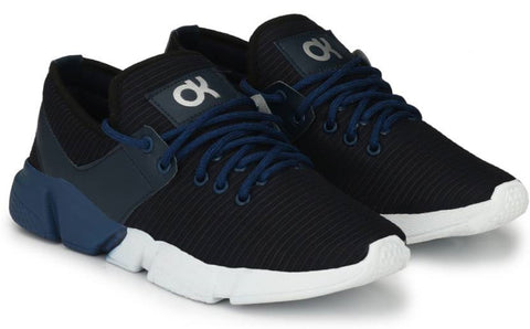 Blue Color Mesh Running  Shoe - 2712Blue