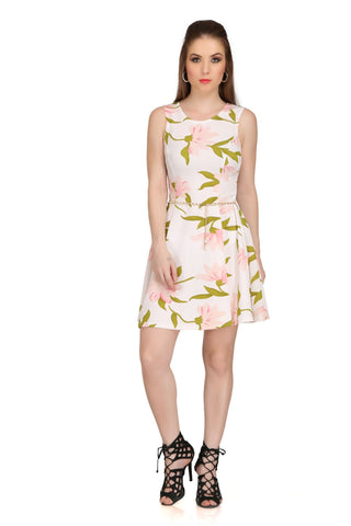 Lotus Color Poly Cotton Dress - 2sis210B-12P