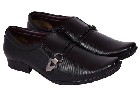 Black Color Synthetic Leather Formal Shoe - 373Black