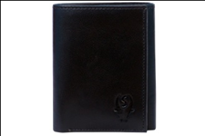 Black Color Velvet Men's Wallet - 3FOLDC-C