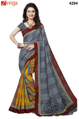 Multi Color Bhagalpuri Sarees - 4294
