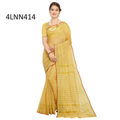 Beige Color Art Silk Saree - 4LNN414
