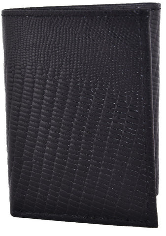 Black Color Leather Mens Embossed Wallet - 503ZLBLACK