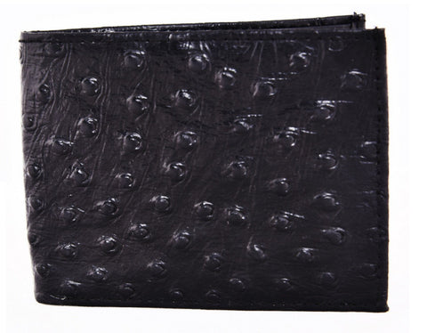 Black Color Leather Mens Embossed Wallet - 504ZOBLACK