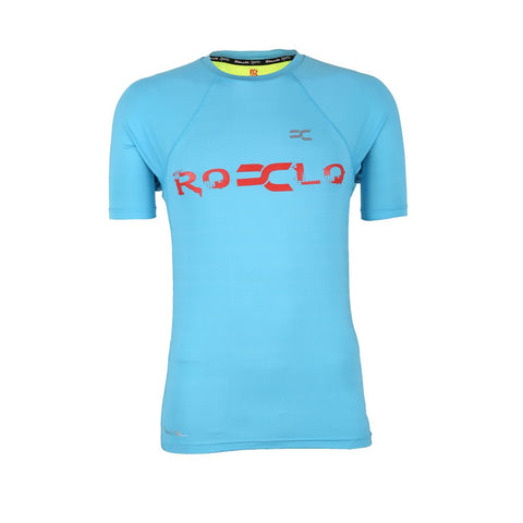 Blue Color PolyLycra T-Shirt - RC-5060