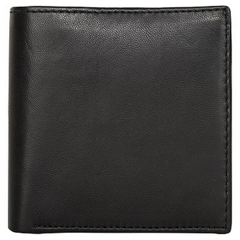 Black Color Genuine Leather Mens Wallet - 509